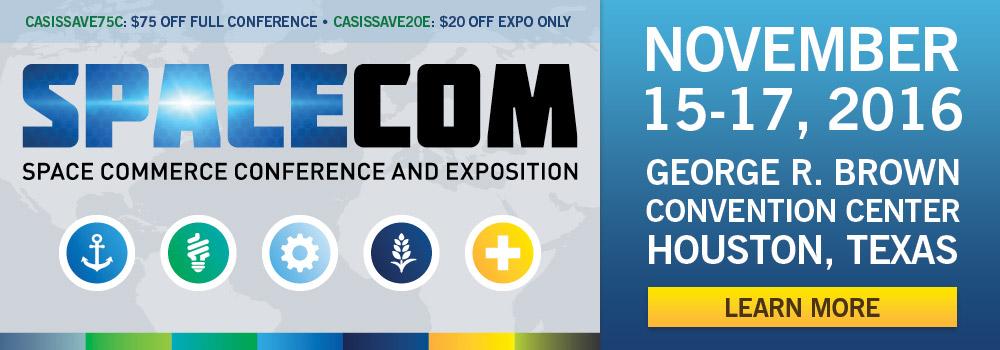 SpaceCom 2016 Promo Codes