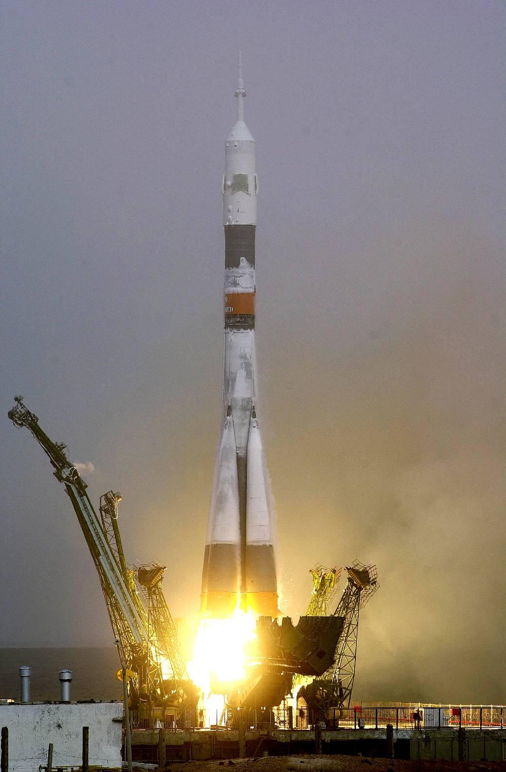 Soyuz first crew