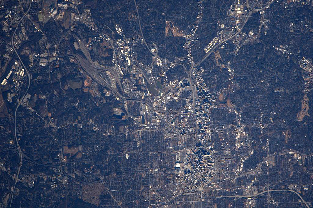 altanta from iss