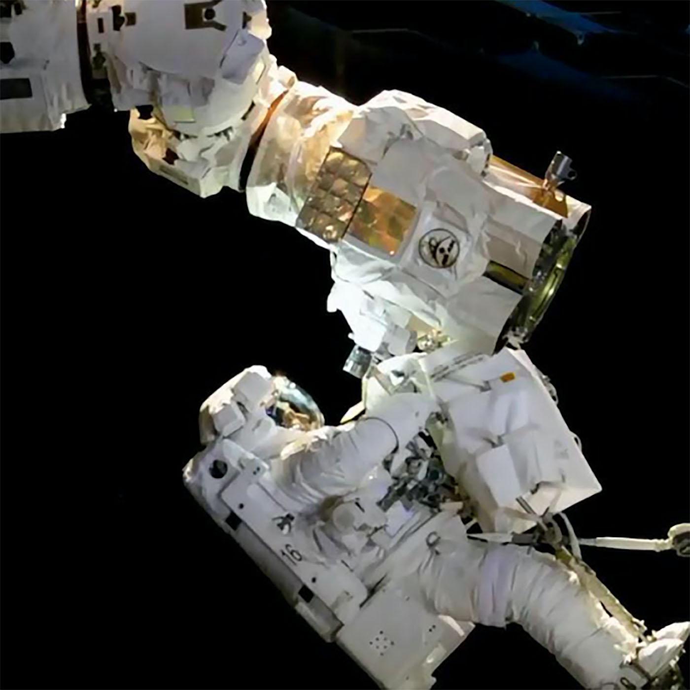 expedition53 spacewalk