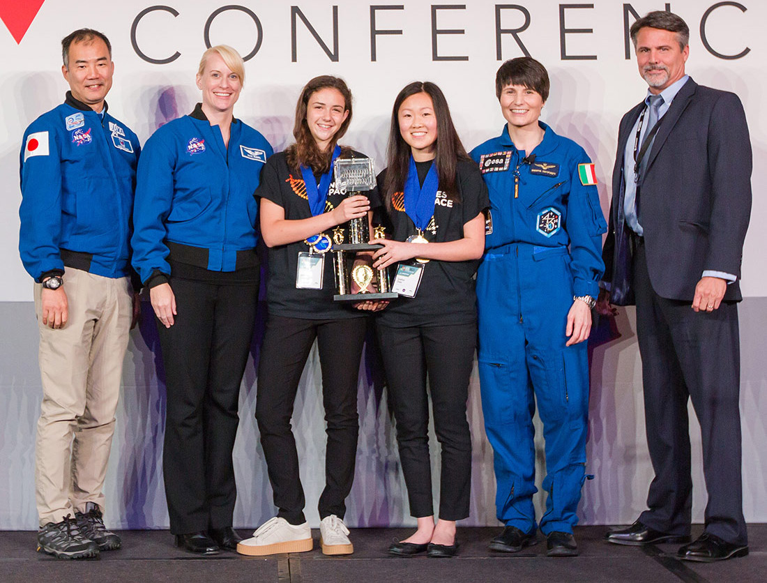 genes in space 2017 winners landscape