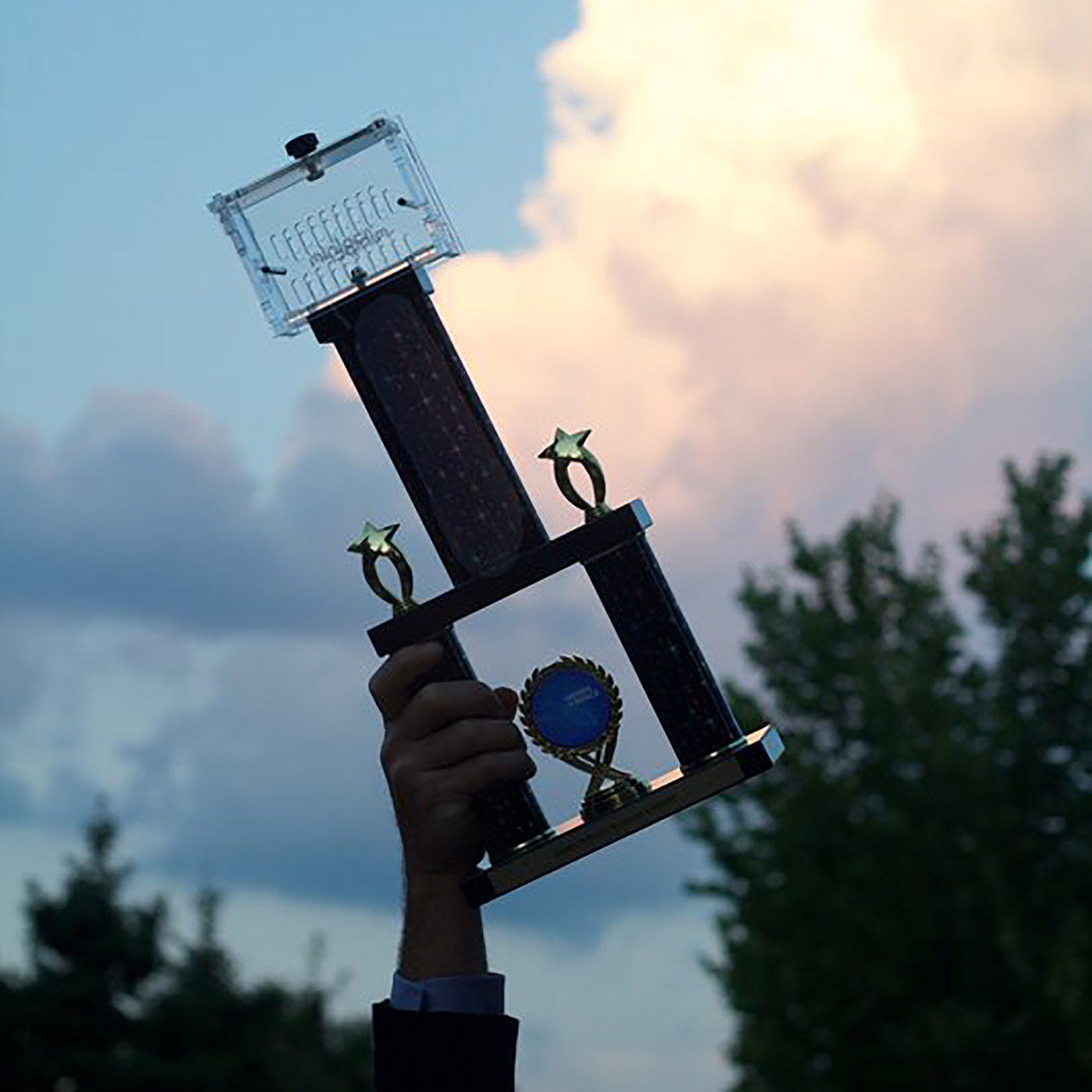 genes in space wining trophy