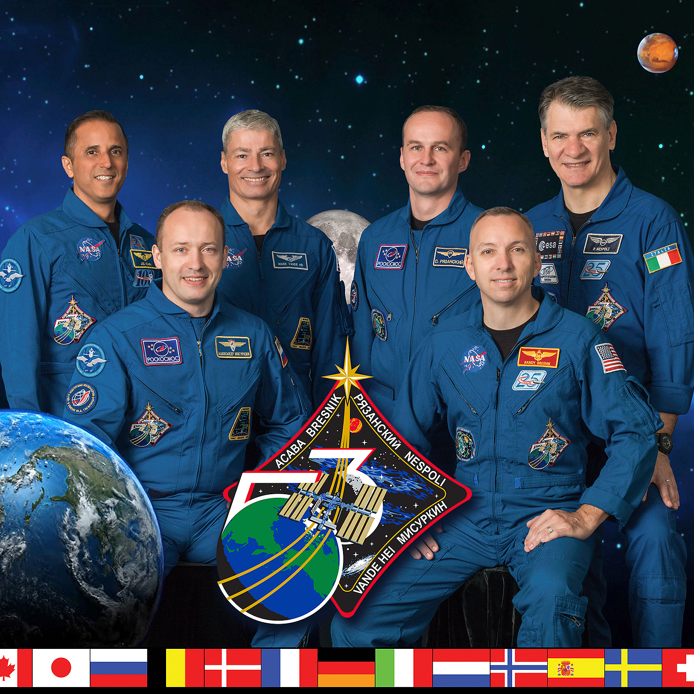 iss expedition53 crew