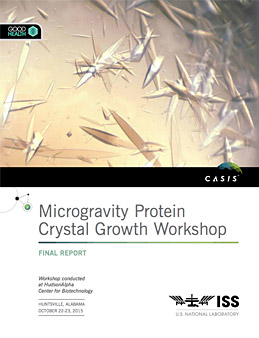 iss protein crystal growth report casis