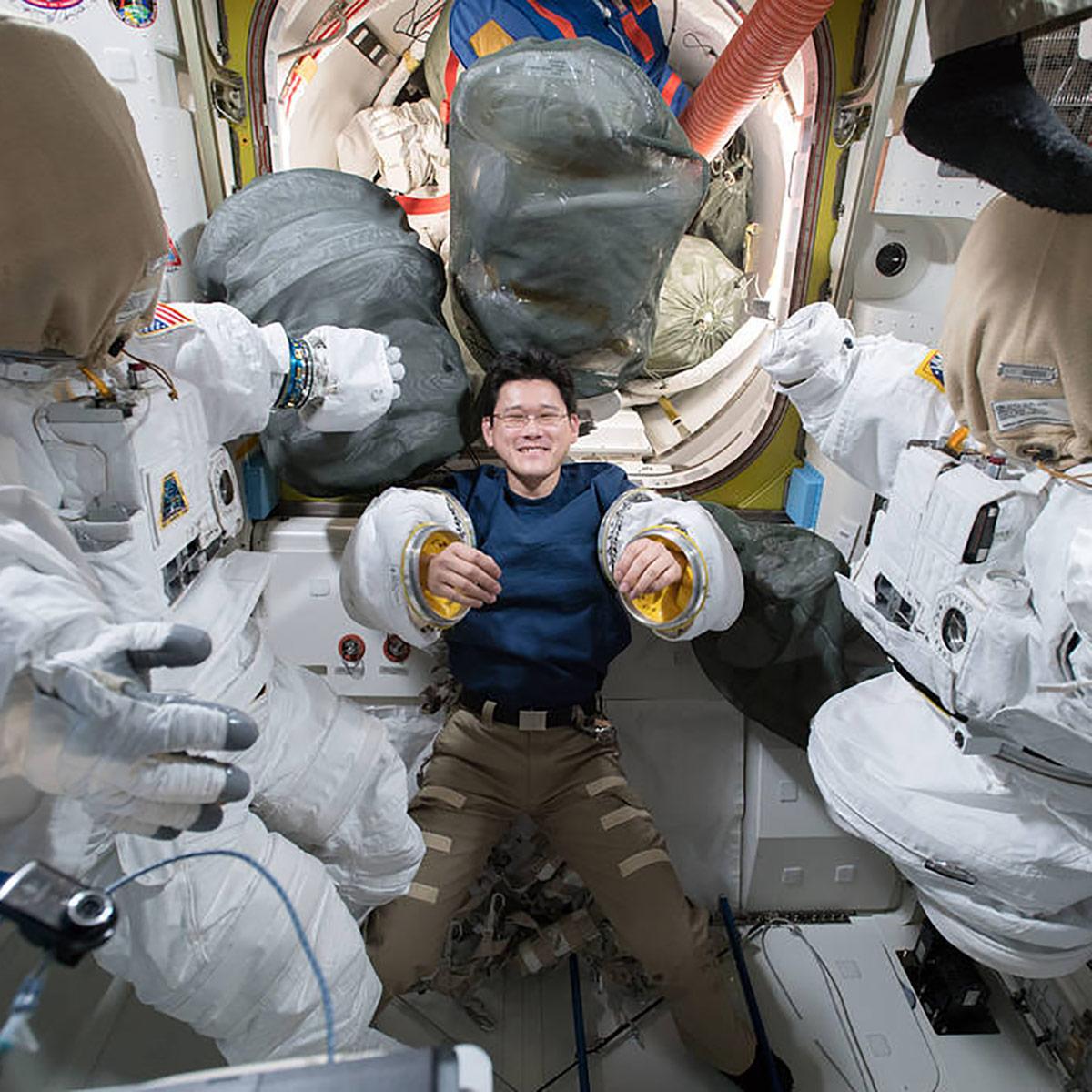 jaxa astronaut norishige kanai
