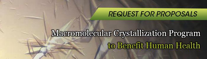 macromolecular crystallization program rfp banner