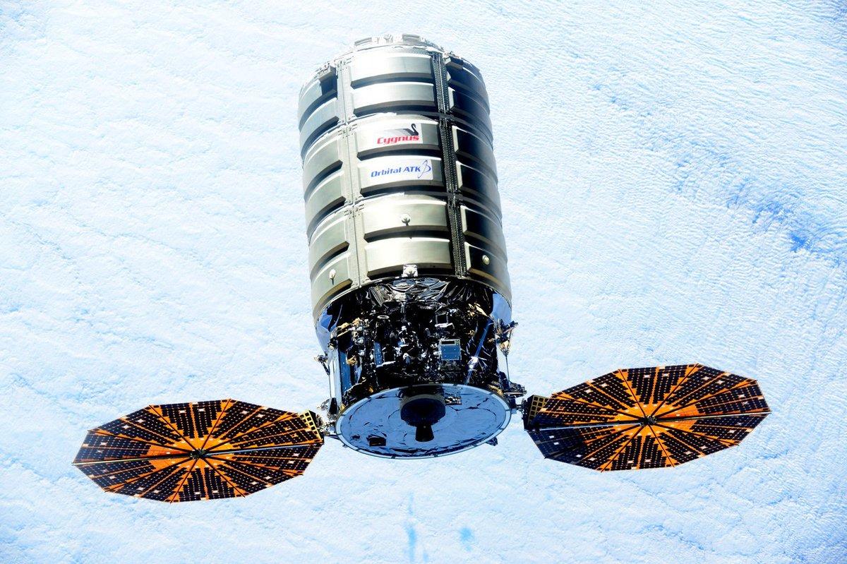 orbital atk cygnus module