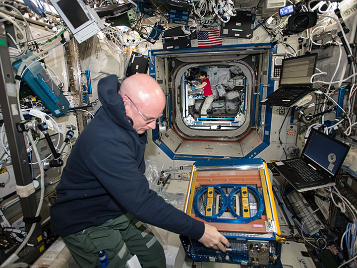 scott kelly rodent research facility